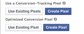 Facebook Power Editor Conversion Tracking Optimize Pixel