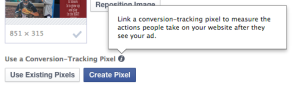 Facebook Power Editor Use Existing Pixels