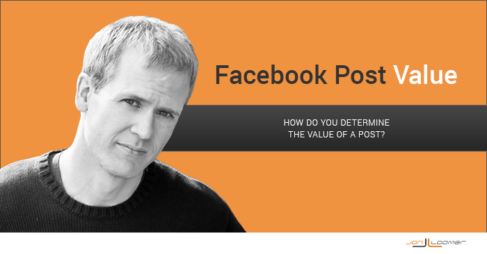 The Value of a Facebook Post [Experiment]