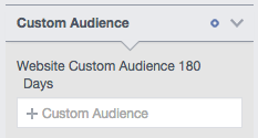 Audience Insights Website Visitors 180 Days