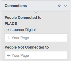Facebook Audience Insights Connections