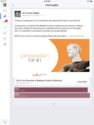Facebook Ads Organic Distribution