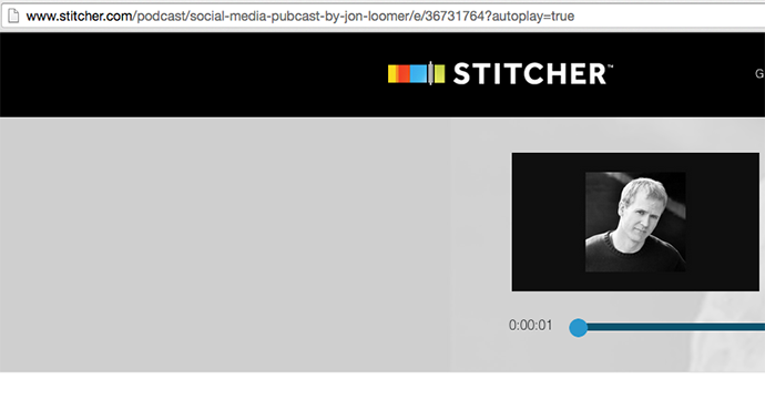 Social Media Pubcast Stitcher Episode