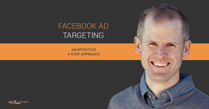 Facebook Ad Targeting 4 Steps