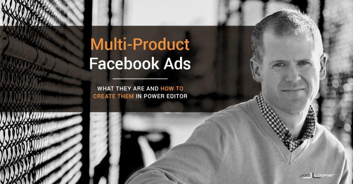 Multi-Product Facebook Ads
