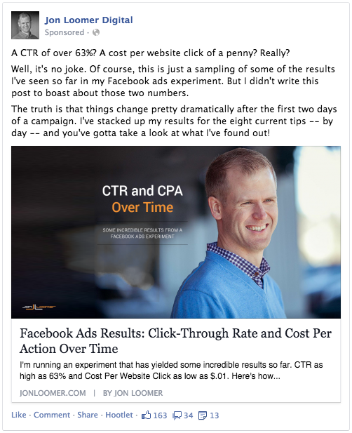Promote Facebook Post