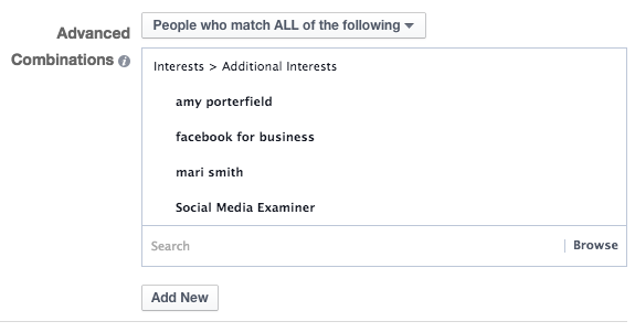 Facebook Ad Targeting All Interests