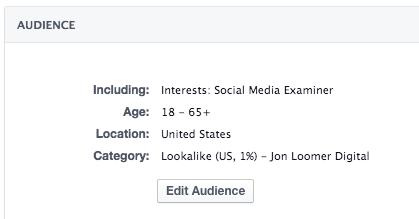 Facebook Ad Targeting Lookalikes Interests