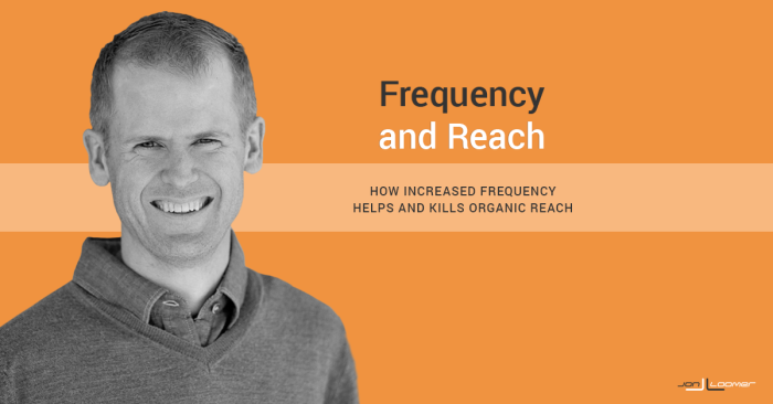 Increased Post Frequency Is Helping and Killing Facebook Organic Reach