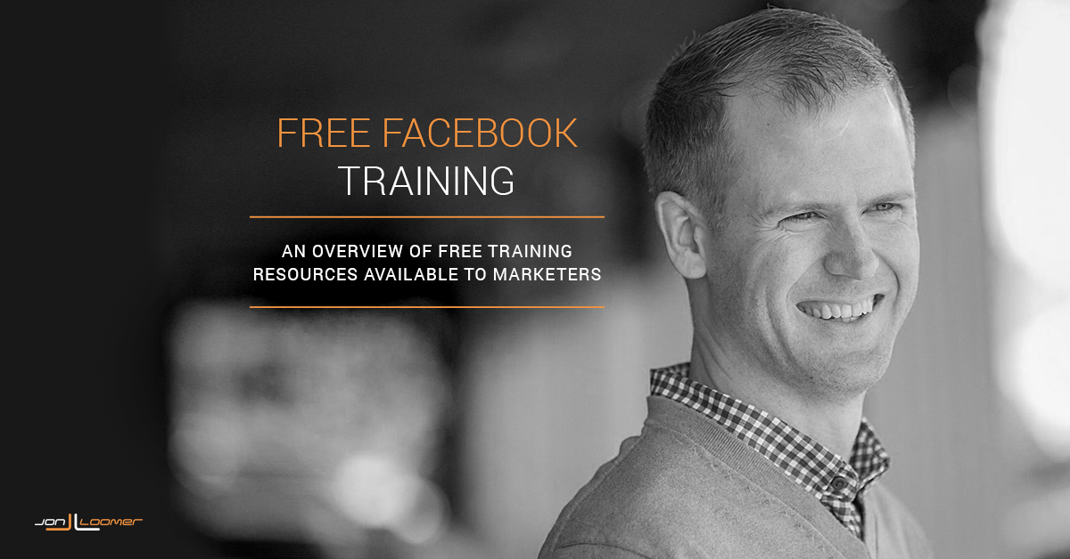 Free Facebook Marketing Training