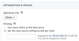 Facebook Cost Per Click