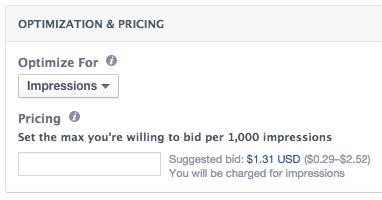Facebook Cost Per 1,000 Impressions