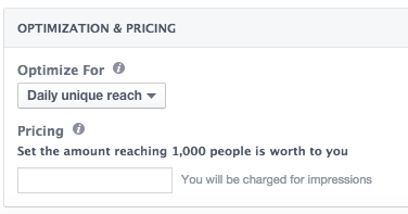 Facebook Daily Unique Reach