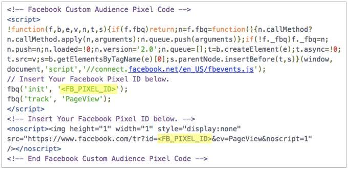 Facebook Upgraded Pixel Base Code