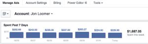 New Facebook Ad Reports Top Nav