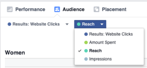 New Facebook Ads Manager Reach