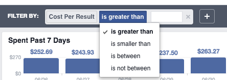 New Facebook Ads Manager Filters Manual