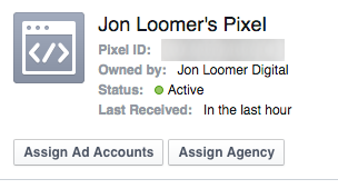 New Facebook Ads Manager Share Pixel