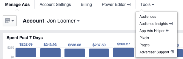New Facebook Ads Manager Tools