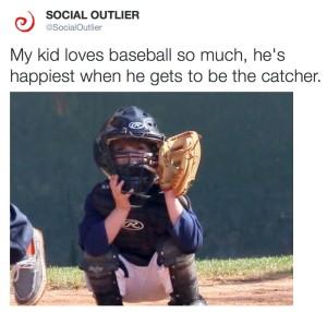 Little League Twitter Ad