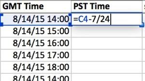 PST Time Convert
