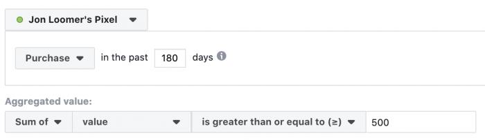 Facebook Website Custom Audiences