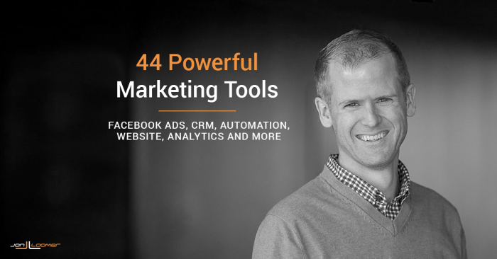 44 Powerful Marketing Tools