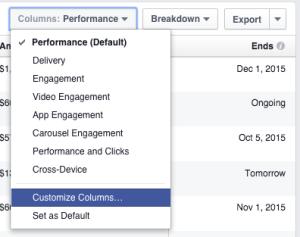 Facebook Ad Reports