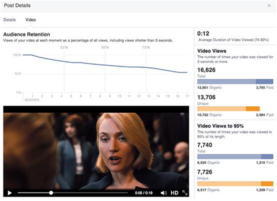 Facebook Video Insights