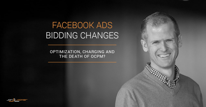 Facebook Ads Bidding Changes
