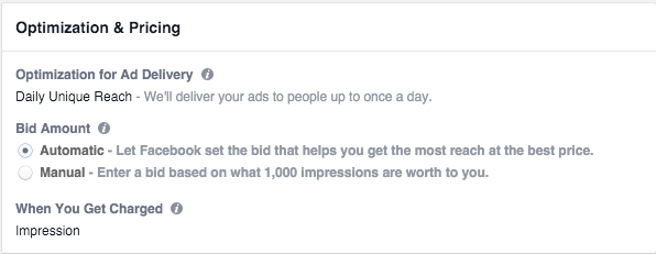 Facebook Ads Optimization
