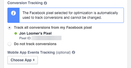 Facebook Custom Conversion