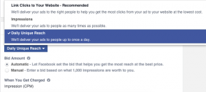 Facebook Ad Set Bidding