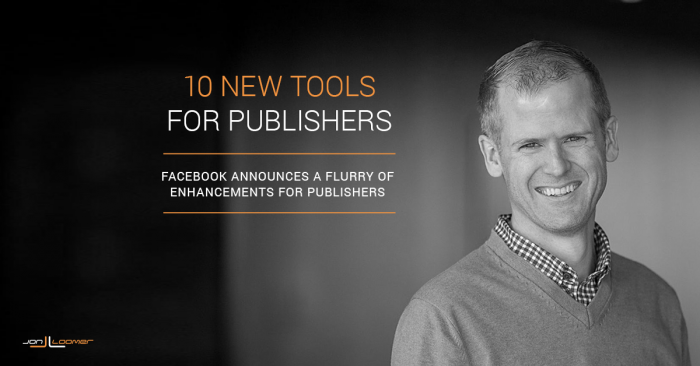 F8 2016: It's a Good Time to Be a Publisher on Facebook