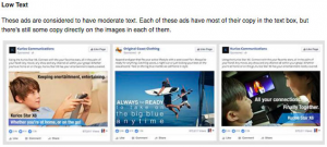 Facebook Text Ad Images Guide Low
