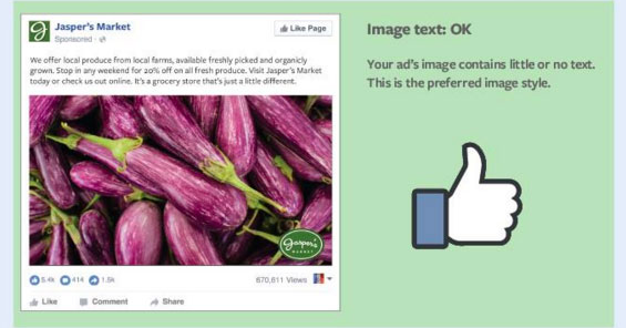 Facebook Text Images Guide OK