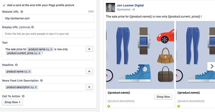 Facebook Dynamic Ad