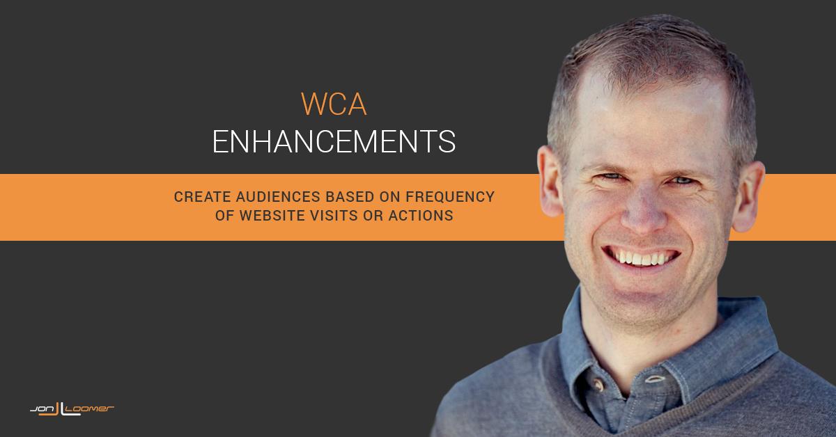 Facebook Website Custom Audience Enhancements