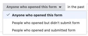 Facebook Lead Form Custom Audience
