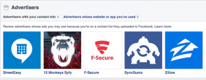 Facebook Advertisers With Your Contact Info