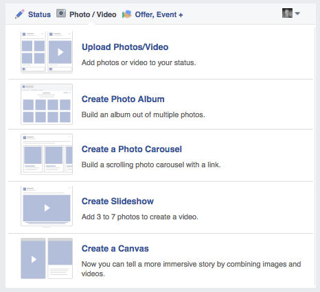 Facebook Canvas Publisher