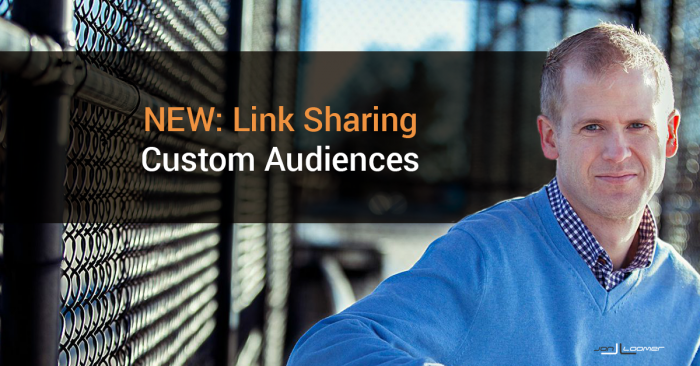 Target Those Who Share Links to Facebook From Your Website