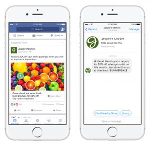 Facebook Messenger Ad Destination