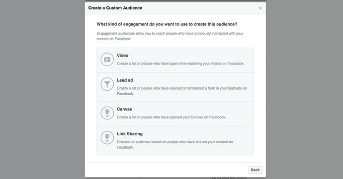 Link Sharing Custom Audience