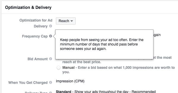 Facebook Reach Objective