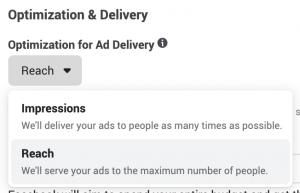 Facebook Reach Optimization