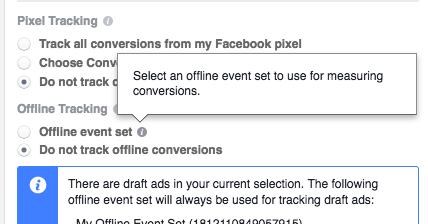 Facebook Offline Events