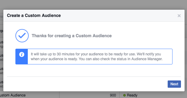 Facebook Page Engagement Custom Audiences