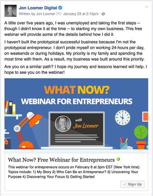 Facebook Lead Ad Webinar
