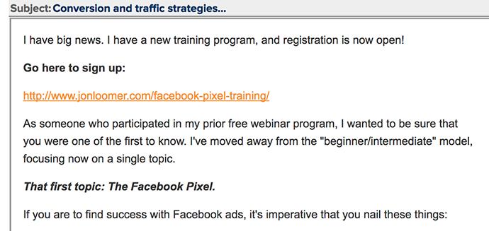 Training Program Promotion